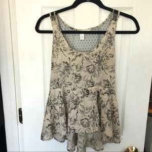 Beige and black top from Nordstrom rack